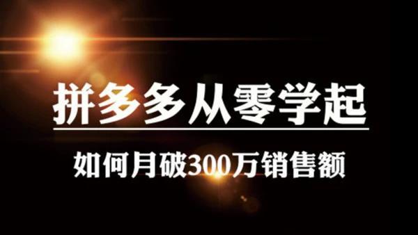 亦米阳光电商教育南宫2020拼多多直通车定向玩法做爆款