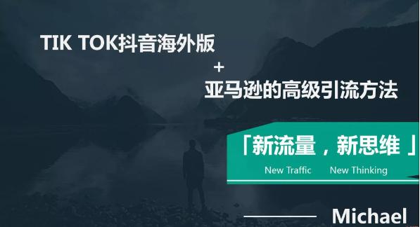 海外抖音TikTok+亚马逊实战训练营