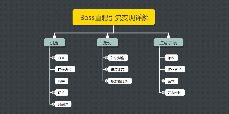 王半圈:Boss直聘引流变现详解