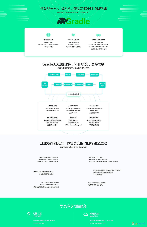 慕课网Gradle3.0自动化项目构建技术精讲+企业级案例实操
