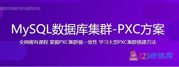 MySQL数据库集群-PXC方案